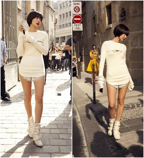 ぺ・ドゥナ、韓国代表としてパリ・ファッションショーへ!独特の魅力に・・・