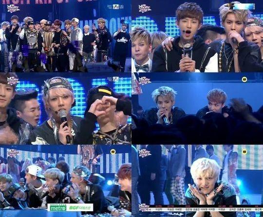 EXO(エクソ)大人気!「MCountdown」で3週連続1位に!
