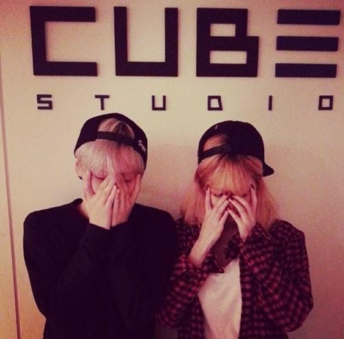 4Minuteヒョナ、BEASTヒョンスンとのツーショット写真公開!「Trouble Maker」の復活はあり?なし!?