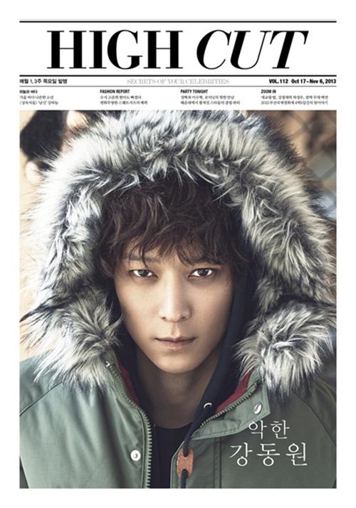 カン・ドンウォン、雑誌「HIGH CUT」の表紙を飾る!映画復帰に対する思い語る・・・