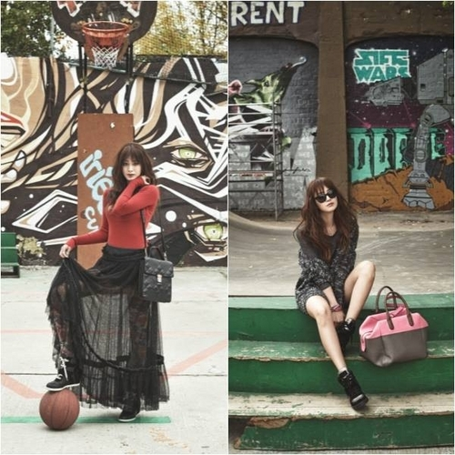キム・テヒ、雑誌の未公開カットでイメージとは違うストリートファッション披露!