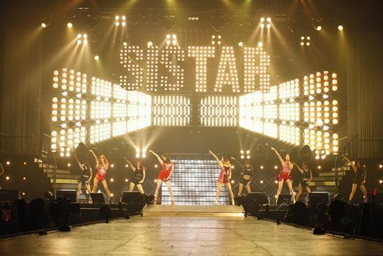 SISTAR(シスター)、単独コンサート開催で4千人を動員!