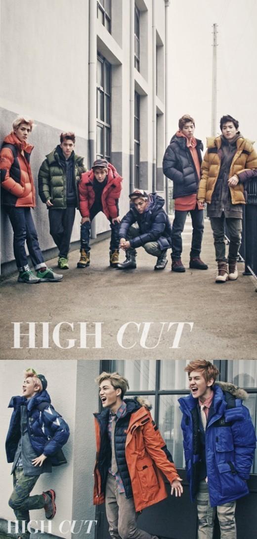 EXO-K、「HIGH CUT(ハイカット)111号」グラビア&インタビュー!「20年たっても記憶される歌手に…」