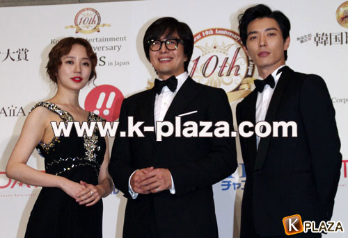 Korean Enta 10th Awards フォトセッションレポート!韓国ドラマ大賞の3人編