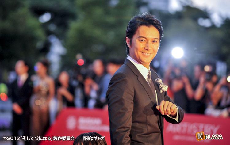 第18回釜山国際映画祭に福山雅治、是枝裕和監督参加! 映画『そして父になる』オフィシャルレポート