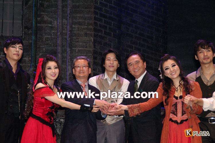 韓国ミュージカル「Jack the Ripper」オム・ギジュン写真レポート