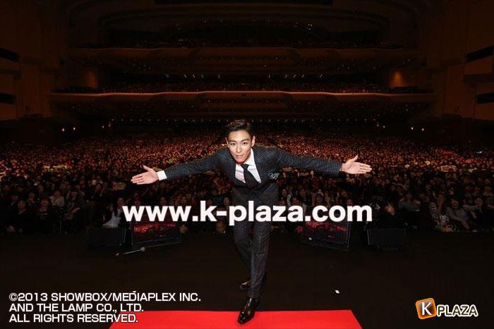 T.O.P (from BIGBANG)映画「同窓生」公開記念PREMIUM EVENT オフィシャルレポート!