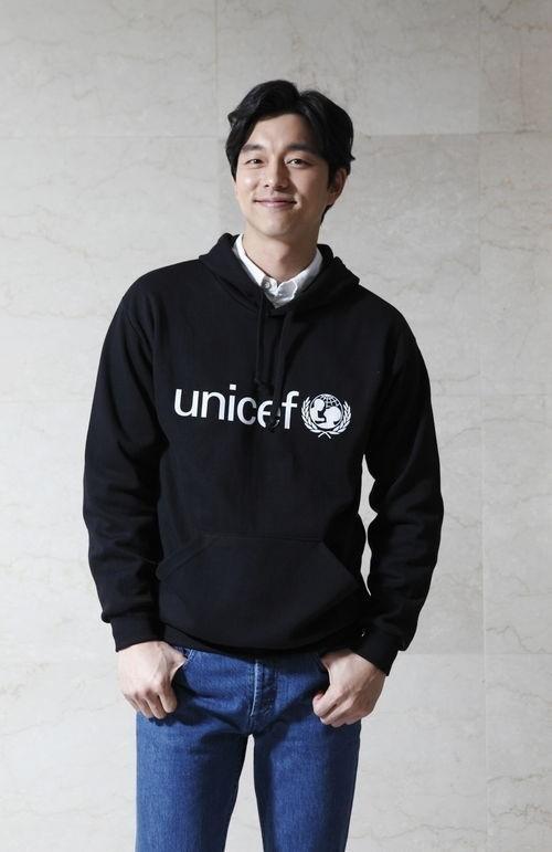 俳優コン・ユ、子供を守るユニセフ「子どもの権利条約」特別代表へ!