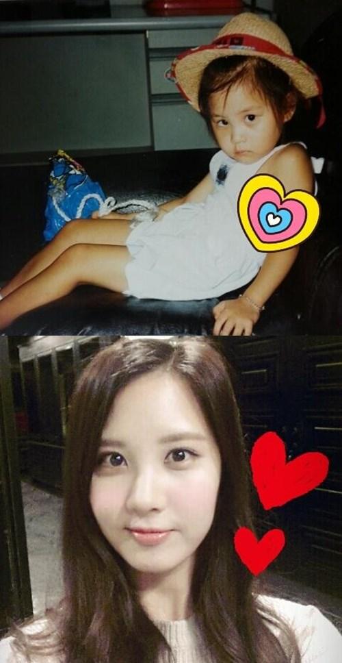 少女時代ソヒョン、ふてくされ顔のキュートな幼少時代写真公開!