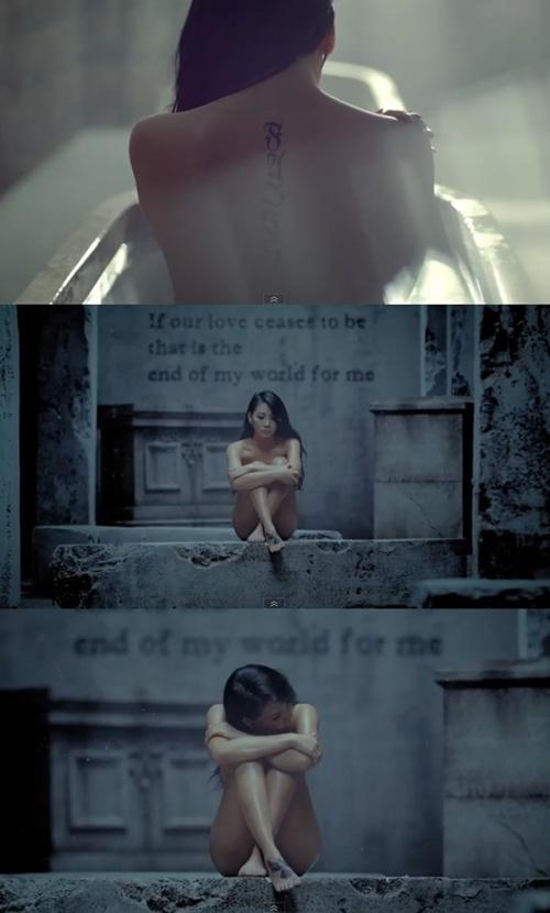Billboard、2NE1のCLに大注目!ミュージックビデオで披露したヌードが高級感あるヌード