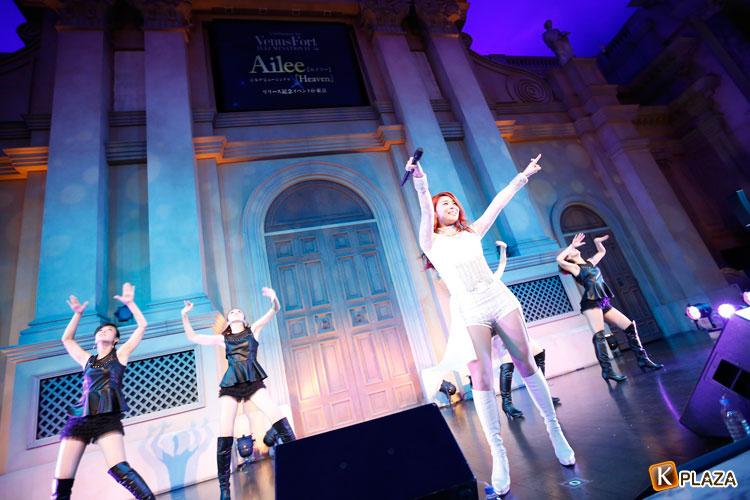 Ailee、日本デビュー発売記念イベントライブにて圧倒的なパフォーマンスを披露!