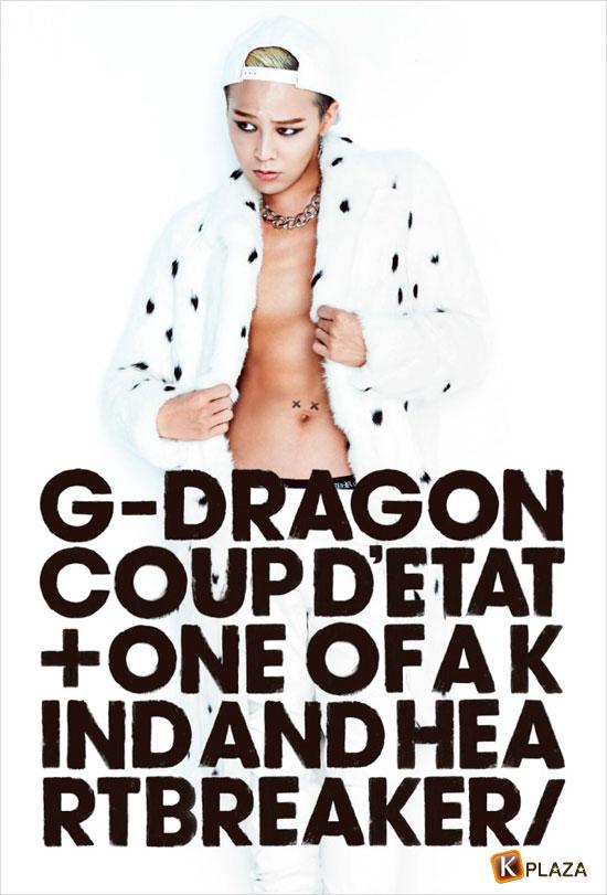 G-DRAGON (from BIGBANG) 日本ソロデビューアルバム絶好調スタート!!