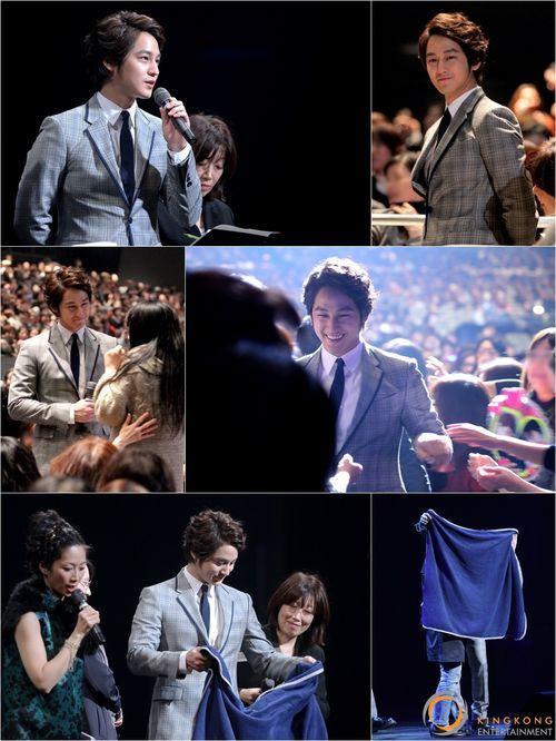 「その冬、風が吹く」日本イベントに5千人集まる!キム・ボムの「毛布キス」に大歓声!