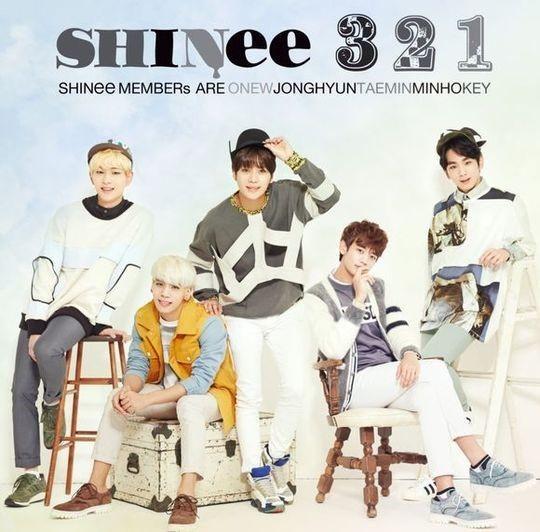 SHINee(シャイニー)、新曲「321」オリコンチャート3位ランクイン!