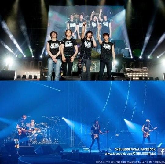 CNBLUE(シーエヌブルー)、単独アメリカツアー日程決定!「Bon Joviらが公演したステージで」