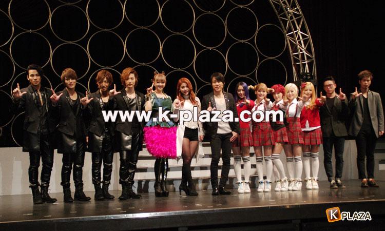 Ailee、CODE-V、ZERO、FAT CAT、TREN-D、10CM「韓ラブ歌謡祭2013」記者会見レポート!