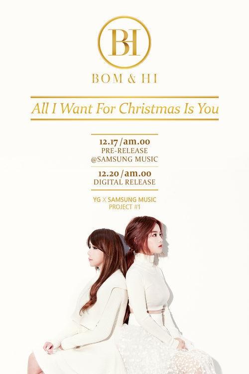YG、新ユニットはBOM & HIの2人で!2NE1ボムとイ・ハイに、ファンの期待高まる!