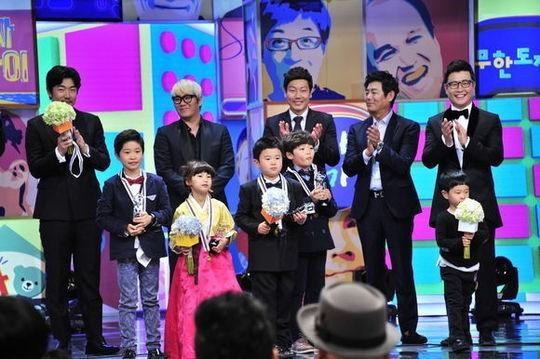 「パパ、どこ行くの?」出演の子供たち、「2013 MBC芸能大賞」を受賞!