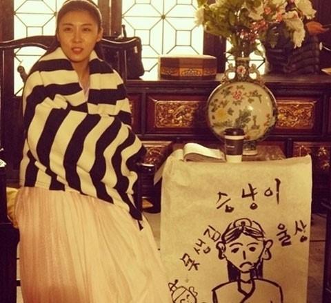 ハ・ジウォン屈辱?!チ・チャンウクの描いたハ・ジウォンの顔が「可愛くない…」