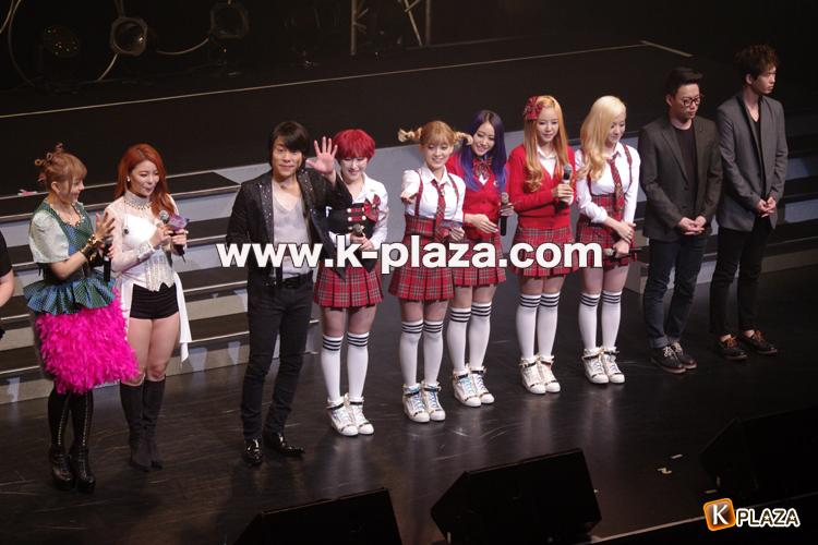 Ailee、CODE-V、ZERO、FAT CAT、TREN-D、10CM『韓ラブ歌謡祭 2013』取材レポート!