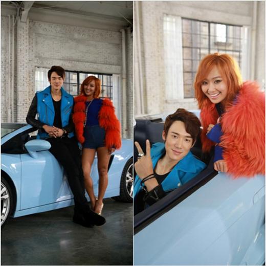 ヒョリン、ソロデビュー曲「あなたしか知らない」撮影現場を公開!ユ・ヨンソクとツーショットでアツアツな雰囲気?!