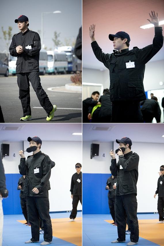 JYJパク・ユチョン、ドラマ「スリーデイズ」の訓練写真公開!