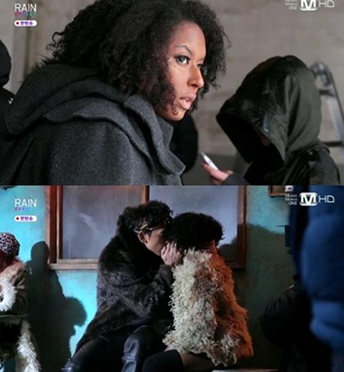 Rain(ピ)、新曲「La Song」のミュージックビデオで黒人女性とのキスが話題に!