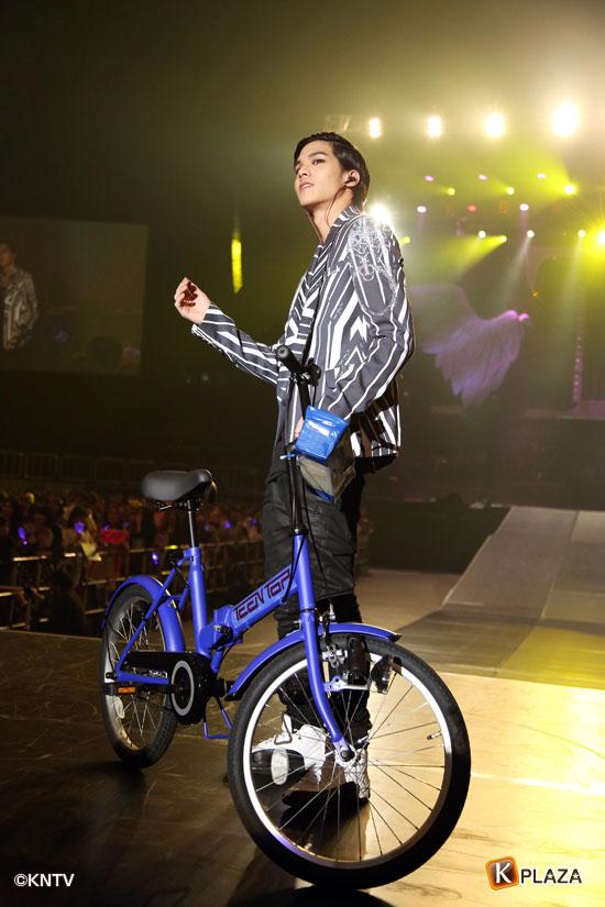 TEENTOP自転車