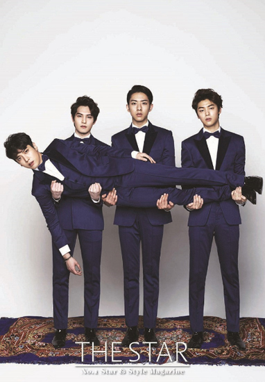 CNBLUE(シーエヌブルー)、バレンタインデーを前に男のロマンチックな感性を表現したグラビア写真公開!