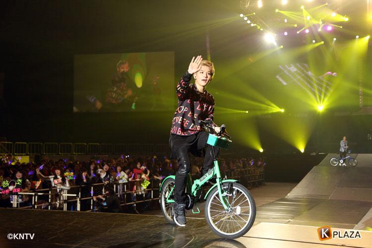TEENTOP自転車2