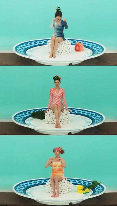 ORANGE CARAMEL、新曲「CATALLENA」MVディーザーイメージ公開!今度は、お寿司!?