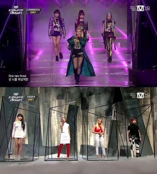 2NE1、「MCountdown」でカムバックステージでカリスマ爆発!!