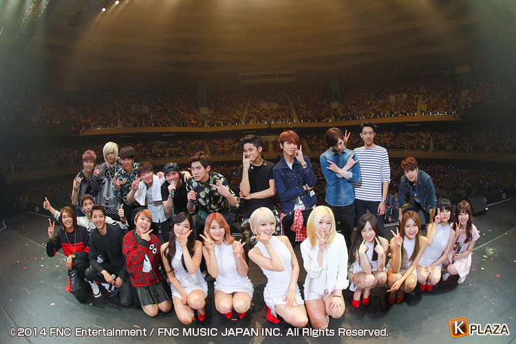 「2013 FNC KINGDOM IN JAPAN -Fantastic&Crazy-」2Days閉幕!ライブレポート